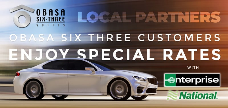 Get Special Rates on Rentals with Obasa Six Three
